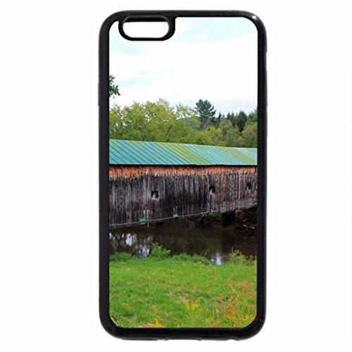 iPhone 6S / iPhone 6 Case (Black) Hammond Covered Bridge 2