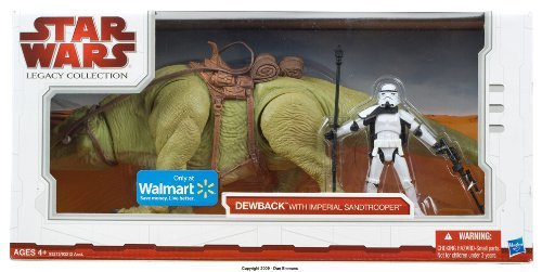 Star Wars Dewback (- Star Wars The Legacy Collection Dewback with Imperial Sandtrooper Exclusive Figure)