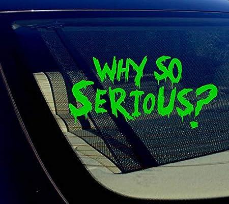 CELYCASY - Adhesivo para ventana de coche con texto en inglés