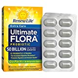 Renew Life - Ultimate Flora Probiotic Extra Care - 50 billion - 30 vegetable capsules - Go Pack