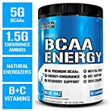 Evlution Nutrition BCAA Energy - High Performance Amino Acid Supplement for Anytime Energy, Muscle...