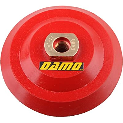 "4"" DAMO Super-Flex Back Holder/Backer Pads for diamond polishing pads: Home Improvement"