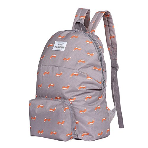 Drasawee - Bolso mochila para mujer marrón 4 talla única 3