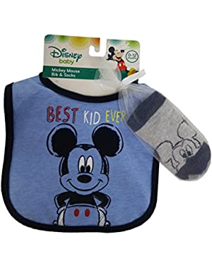 Disney Mickey Mouse Bid and socks set – 0 – 12 months [5014]