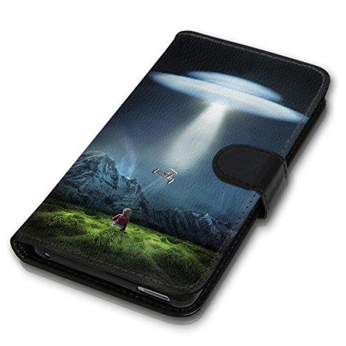 Wallet Book Style Flip Handy Tasche Case Schutz Hülle Schale Motiv Etui für Apple iPhone 6 Plus / 6S Plus - Design Flip MV175