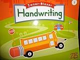Zaner Bloser Handwriting: Grade 1
