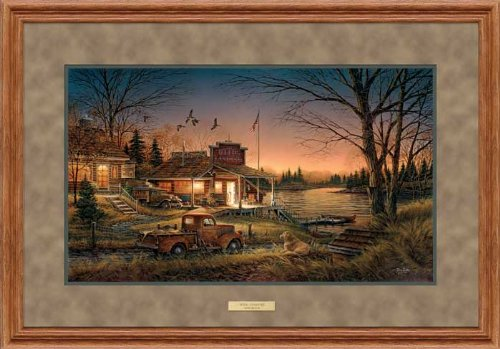 Total Comfort Framed Elite Print by Terry -