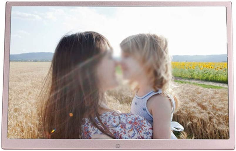 Xiejuanjuan Digital Picture Frame with IPS Display Ultra-Thin Metal Narrow Side 17 Inch Digital Photo Frame 1440900 Pixels High Resolution High Resolution LED Screen USB and SD Card Slots