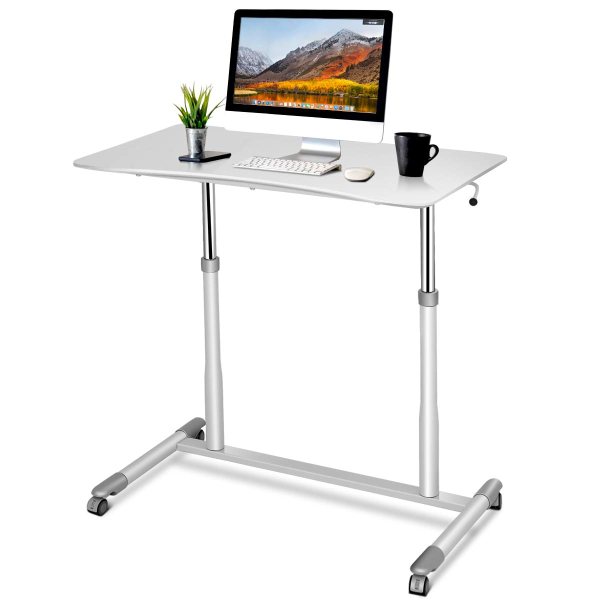 2018 Notebook Computer Desk Bed Learning With Household Lifting Folding Mobile Bedside Table Home Writing Desktop Computer Desk Furniture