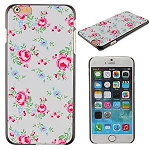 CuteFaiy Cases For Apple Iphone Bright Roses Design PC Hard Cover for iPhone 6 Plus
