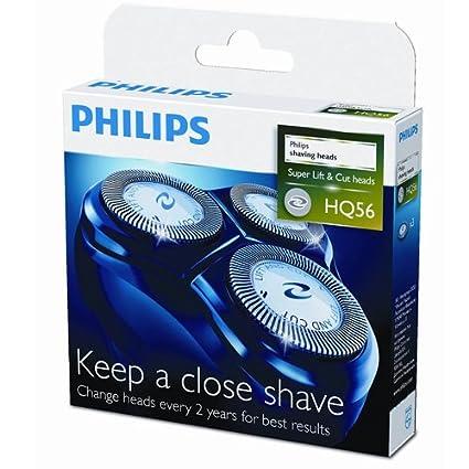Philips HQ56 60 - Cabezales de afeitado para máquinas SensoTouch ... 3ea557c86cd1