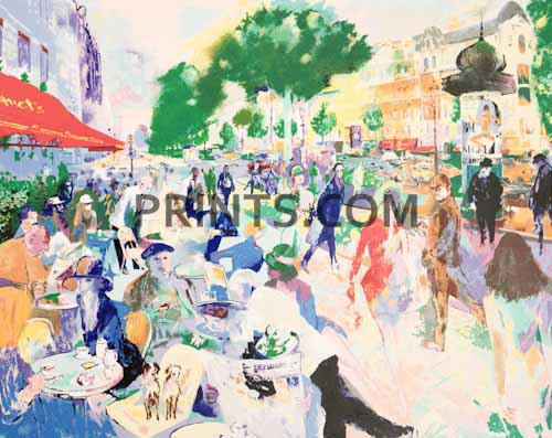 LeRoy Neiman - Fouquet's Open Edition Serigraph on Paper