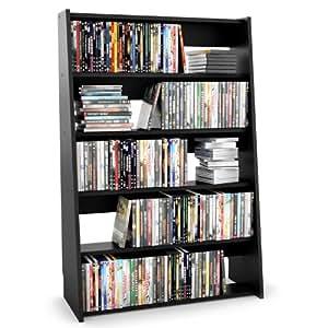 Sonax DV-3000 Fillmore Midnight Black Media Storage Shelf