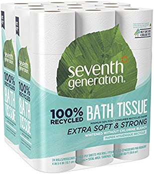 2-Pack of 24 Rolls Seventh Generation 2-ply Toilet Paper