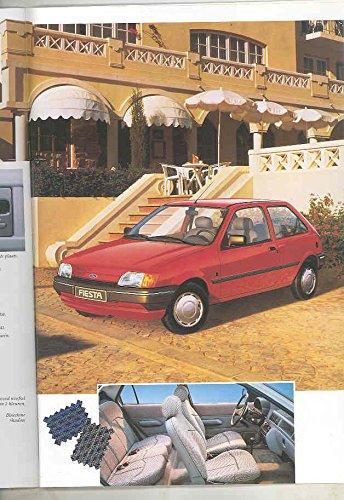 Amazon.com: 1991 Ford Fiesta European Brochure Dutch: Entertainment Collectibles
