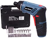 Cartman 4V Cordless Rechargeable Screwdriver With 30 Bits 8 Sleeves, With Light