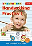 Handwriting Practice: My Alphabet Handwriting Book (My First Alphabet Handwriting)