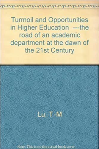 The Road To Higher Education With >> Turmoil And Opportunities In Higher Education The Road Of An