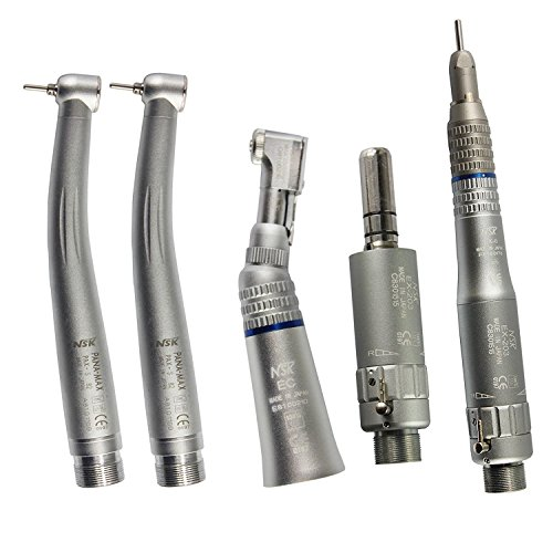 2 High Speed Wrench Type (2 Hole) + 1 Low Speed Latch Kit (2Holes )Dental