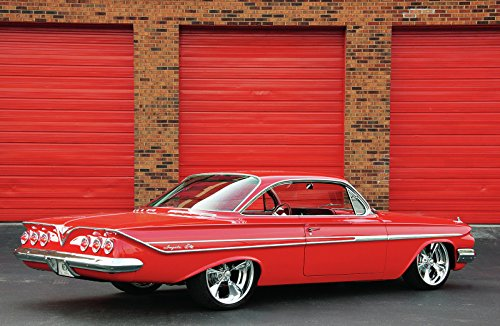 Chevy Impala Coupe (1961_chevrolet_impala_hardtop_coupe_ Mouse Pads mousepads Classic Vintage Old Cars Hot Rods Speed Computer Dessktop Supplies)