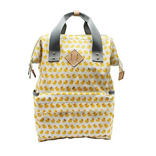 IHONEY Multifunction Waterproof Backpack Tote Diaper Bag for