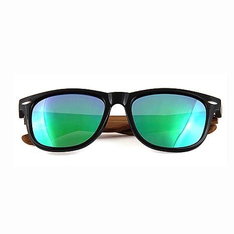 Gafas de Sol polarizadas Unisex Gafas de Madera Estilo ...