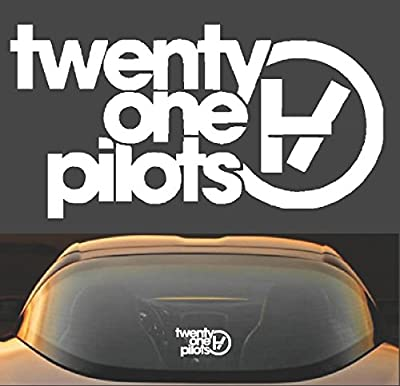"8"" Twenty One Pilots Band Vinyl Decal Sticker"