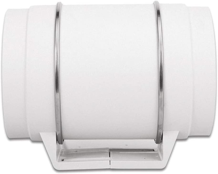 Ventilador de escape WC de 8 Pulgadas Baño Velocidad Nominal: 2600r / min Presión estática: 380Pa Volumen de Aire ...