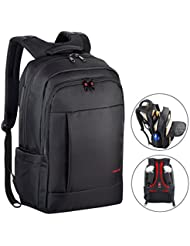 Kuprine 17 Inch Water Resistant Business Lightweight Slim Laptop Backpack for Men Women, Anti Theft College Computer...