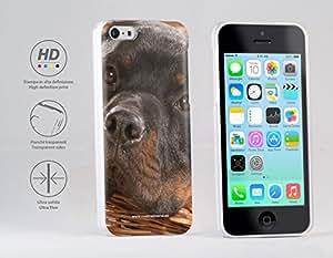 Funda Carcasa dura para Apple iPhone 5c - Perro Rottweiler