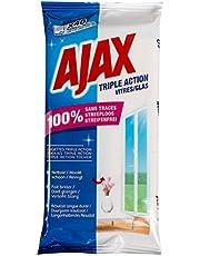 Ajax Triple Action Raamreinigingsdoekjes, 40 stuks