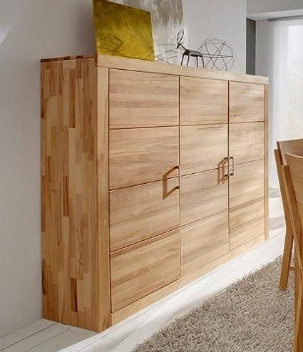 Mueble aparador madera de haya maciza: Amazon.es: Hogar