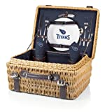 NFL Tennessee Titans Champion Picnic Basket with Deluxe Service for Two, Navy