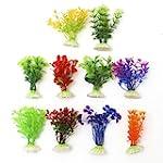 10 x Aquarium Artificial Plants Fish...