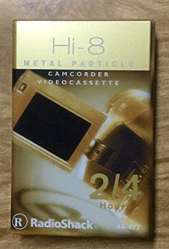 Hi-8 Metal Particle Camcorder Videocassette2/4 Hours