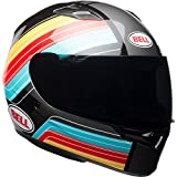 Bell Qualifier Full-Face Motorcycle Helmet (Gloss Blue/Red/Yellow Command, Small)
