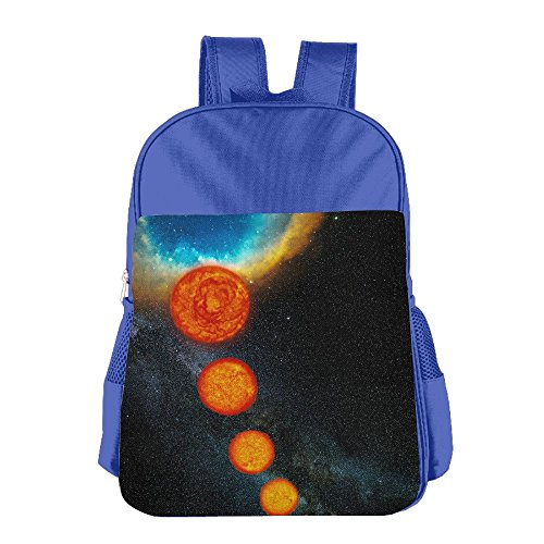 Fantasy Planet Starry Children's Backpack School Bag Suitable For 4-15 Year Olds