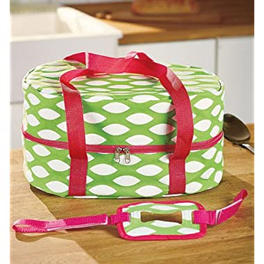 Lime Green Slow Cooker Pot Carrier Case