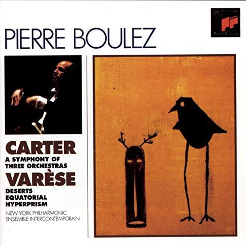 Carter: Symphony of Three Orchestras - Varèse: Deserts, Equatorial & - Percussion 77
