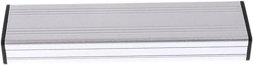 SSD USBハードディスクカバー エンクロージャ Macbook Air 2010 2011 A1369 A1370用 銀