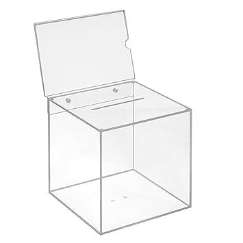 Votaciones de acrílico cristal en 200 x 200 x 200 mm con ...