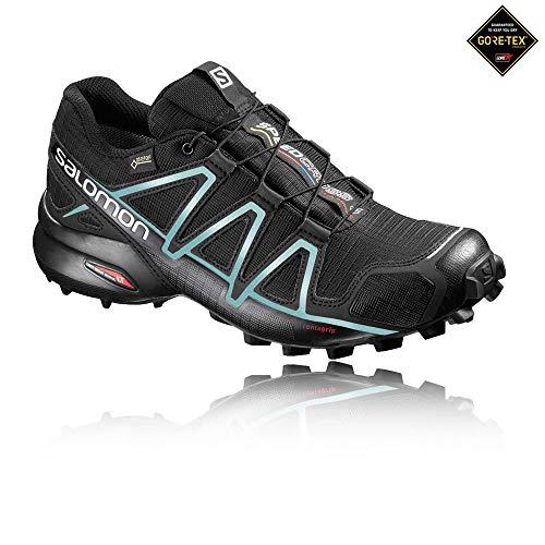 Salomon L38308300, Zapatillas de Trail Running para Mujer Negro