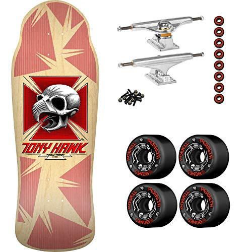- Bones Brigade Skateboard Complete Hawk Chicken Skull 11th Series Natural 10.41