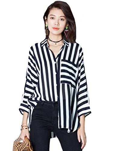 Camisas Matchlife Black Style2 Mujer Para fUUZdqx8