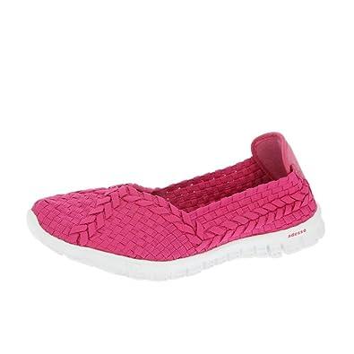 Adesso Zapatos Polo Fucsia: Amazon.es: Zapatos y complementos