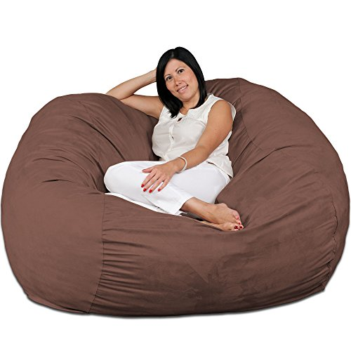 Chair, Premium Foam Filled 5 XL, Protective Liner Plus Removable Machine Wash Earth Cover ()