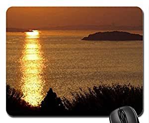Mood Mouse Pad, Mousepad (Sunsets Mouse Pad, Watercolor style)