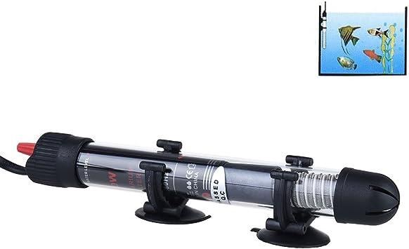FONLAM Calentador para Acuario Sumergible Calentador Pecera Agua ...