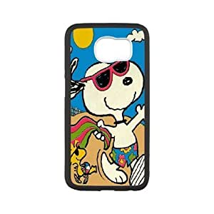 Custom High Quality WUCHAOGUI Phone case Cute & Lovely Snoopy Protective Case For Samsung Galaxy S6 - Case-3