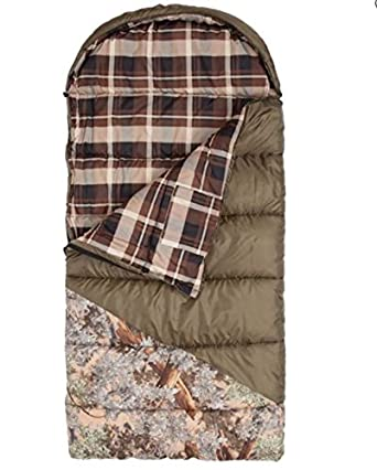 King s Hunter Series Junior 25-Degree Sleeping Bag, Green Desert Shadow Camo Accents